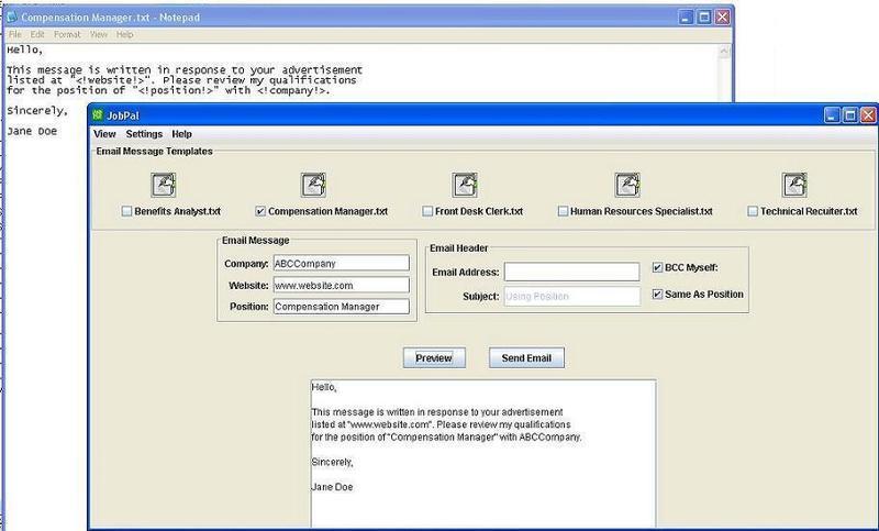 Jobpal_interface